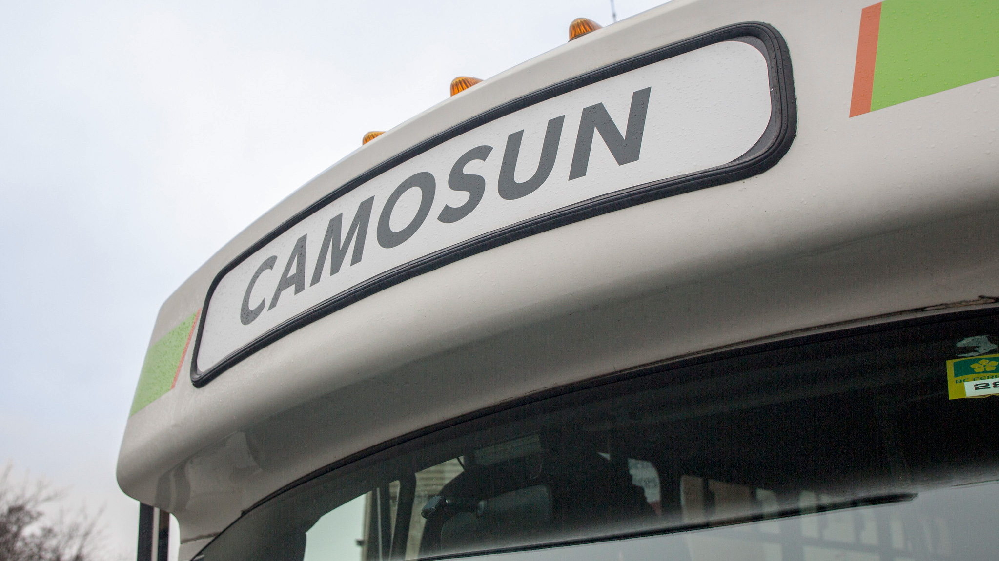 A city of Victoria bus driving the Camosun bus route