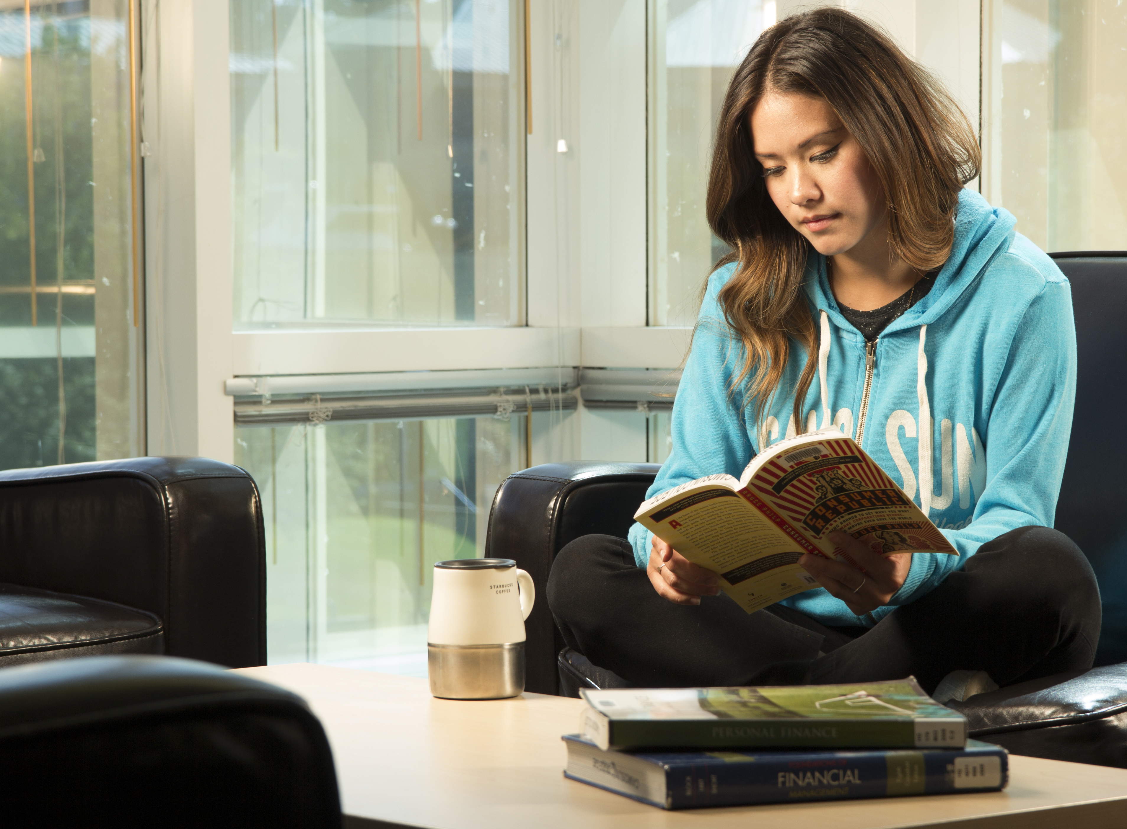 Indigenous Studies female reading